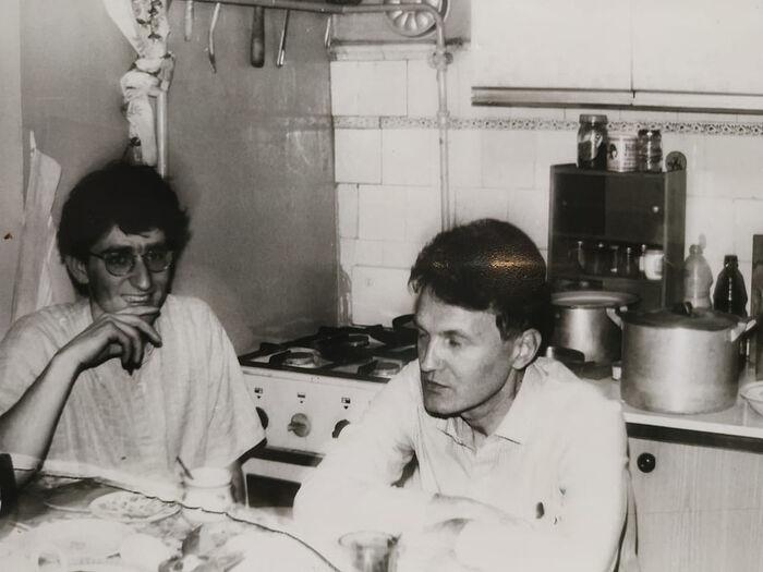 Первый визит в СССР в 1989 г.
