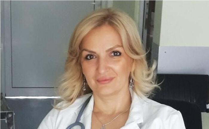 Министр здравоохранения Черногории Елена Боровинич-Бойович
