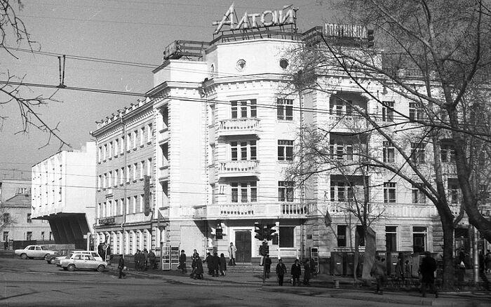Barnaul in the 1980s