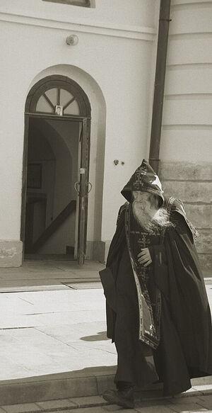 Старец Илий в Оптиной