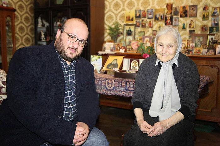 Elder Gabrielis sister Julietta and Constantine