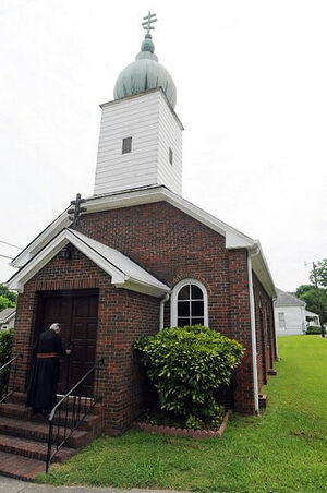 Свято-Николаевский храм в Бруксайде, штат Алабама