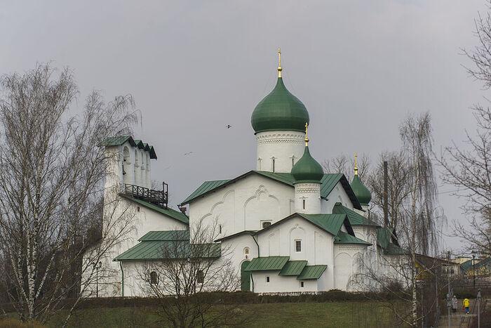 Храм Богоявления. Село Запсковье. Фото Льва Савинова.