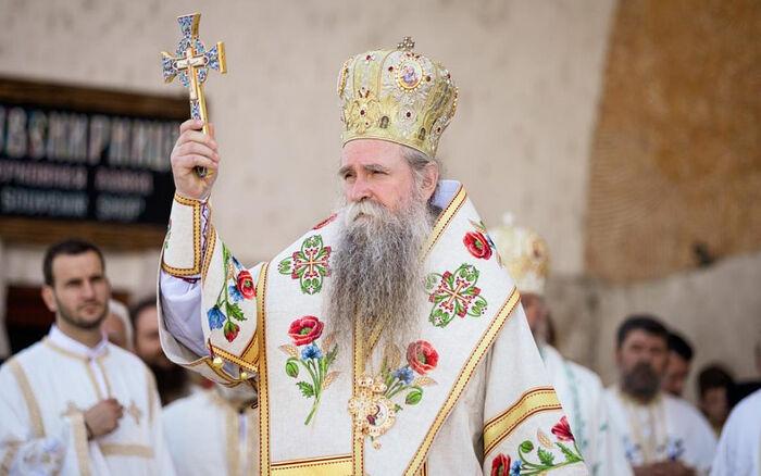 His Grace Bishop Joanikije of Budimlja and Nikšić, the administrator of the Metropolis of Montenegro of the Serbian Orthodox Church. Photo: pravoslavie.ru