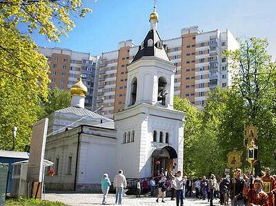 Церкви передан московский храм XIX века