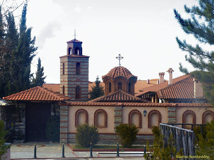 The Monastery of the Dormition in Mikrocastro. Photo: johnsanidopoulos.com