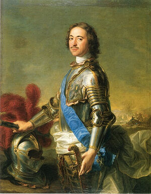 Peter the Great. Portrait by Jean-Marc Nattier, after 1717. Photo: wikipedia.org