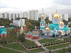 New Orthodox church in Bibirevo will be most spacious in Russia