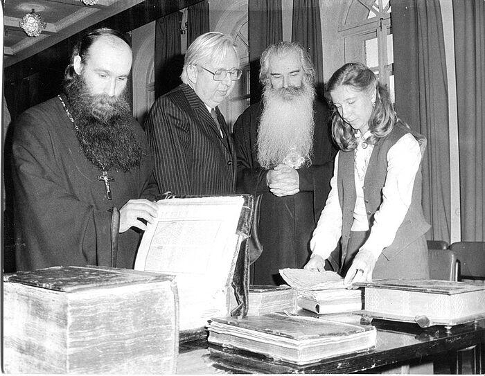 Митрополит Питирим (Нечаев) в Издательском совете