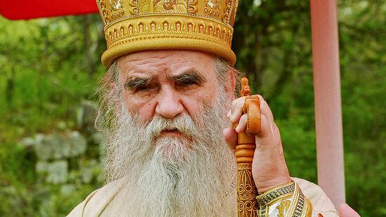 Metropolitan Amfilohije of Montenegro.
