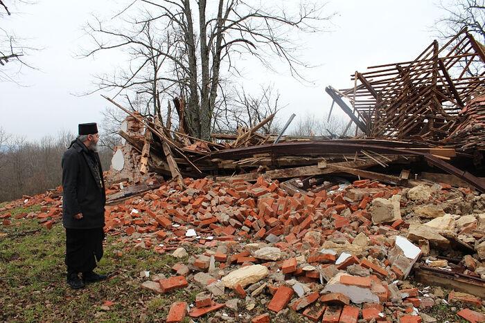 Православные архиереи Хорватии посетили пострадавших от землетрясения