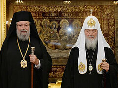 Patriarch Kirill calls on Archbishop of Cyprus to reconsider decision to recognize schismatics