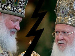 Patriarch Bartholomew closes his eyes to schism he created, accuses Patriarch Kirill of papal pretensions