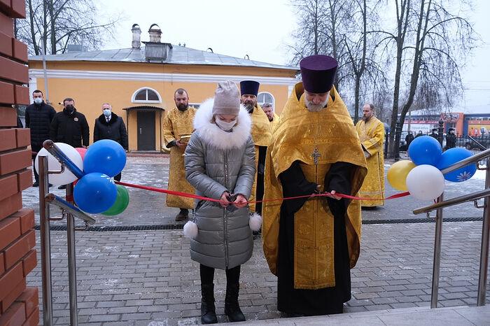 В Новгородской области открыли церковный центр поддержки семьи