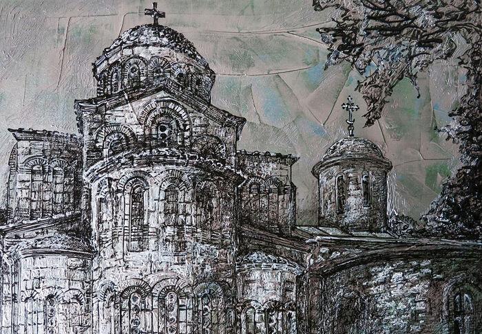 В Керчи покажут картины с изображением красивейших храмов России