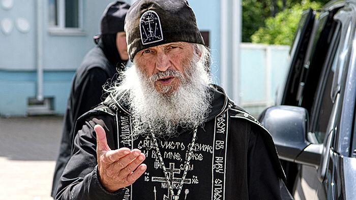 Отлучённый от Церкви экс-схиигумен Сергий (Романов). Фото: Вова Жабриков / URA.RU/TASS