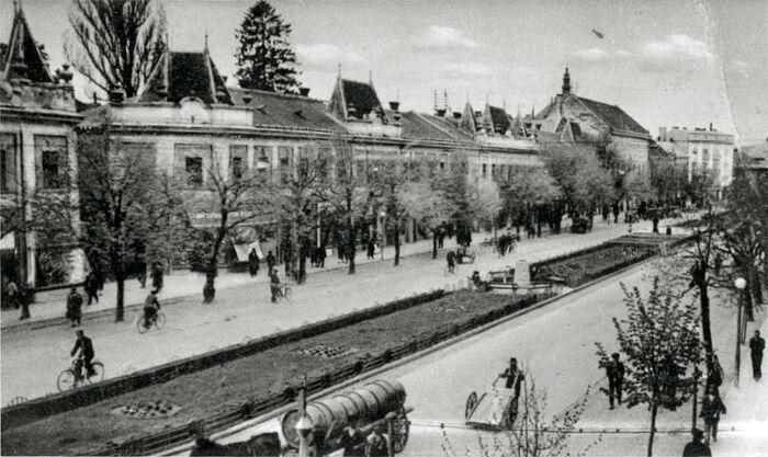 Мукачево, 20-е годы ХХ века