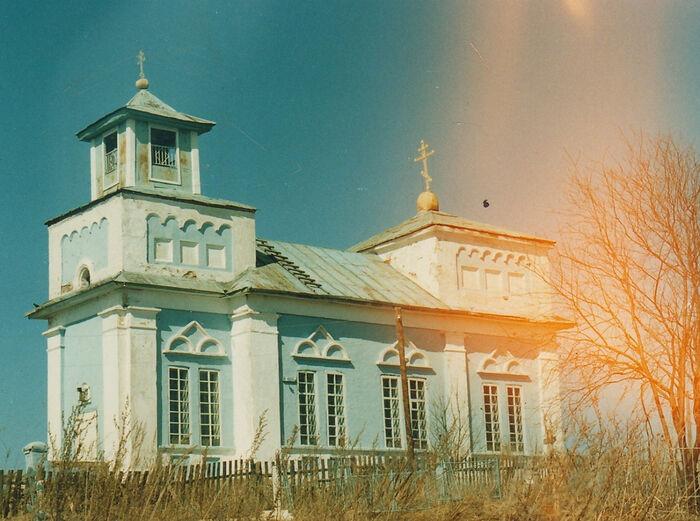 Храм Всех святых в 80-ые годы
