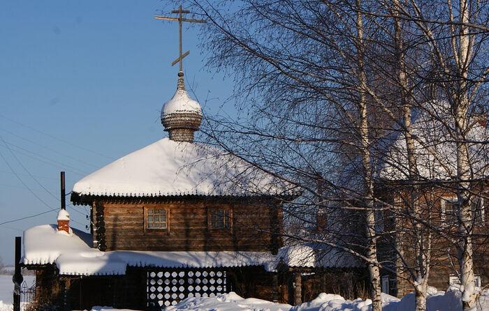 Зима в Казанской Трифоновой пустыни