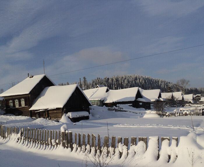 Верхнечусовские Городки зимой