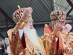 Retired Metropolitan Philaret of Minsk reposes in the Lord