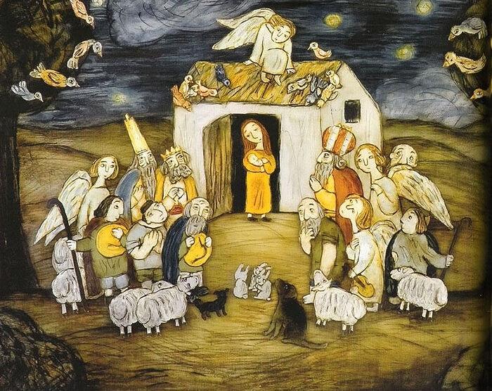 Кадр из мультфильма «Рождество»