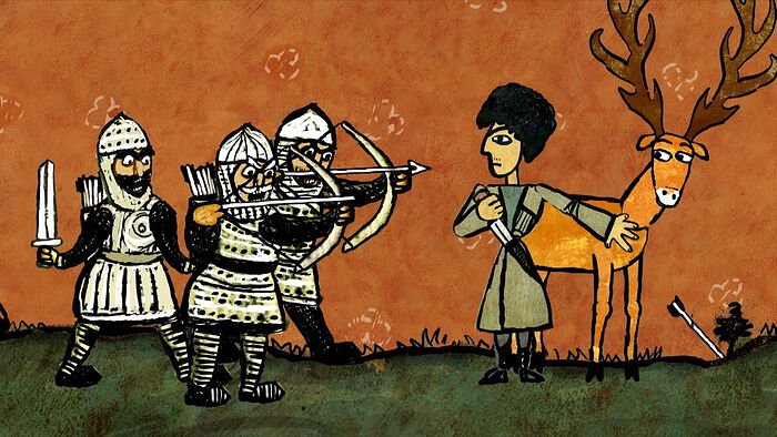 Кадр из мультфильма «Бессмертный»