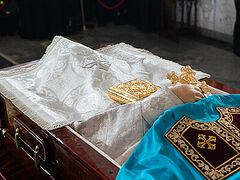 Funeral for Metropolitan Philaret served in Minsk (+VIDEO)