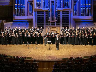 В Московском доме музыки проходит XI Рождественский фестиваль духовной музыки