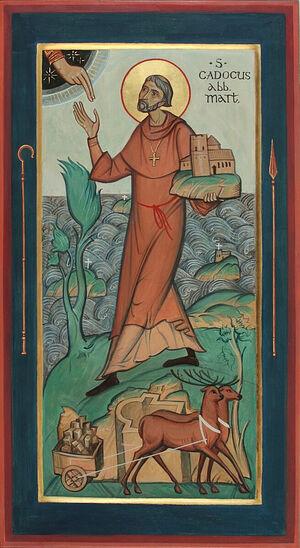 Преподобный Кадок Лланкарванский
