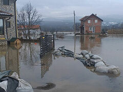 Severe flooding destroys diocesan soup kitchens in Kosovo