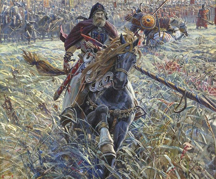 Павел Рыженко. «Победа Пересвета» (2005)