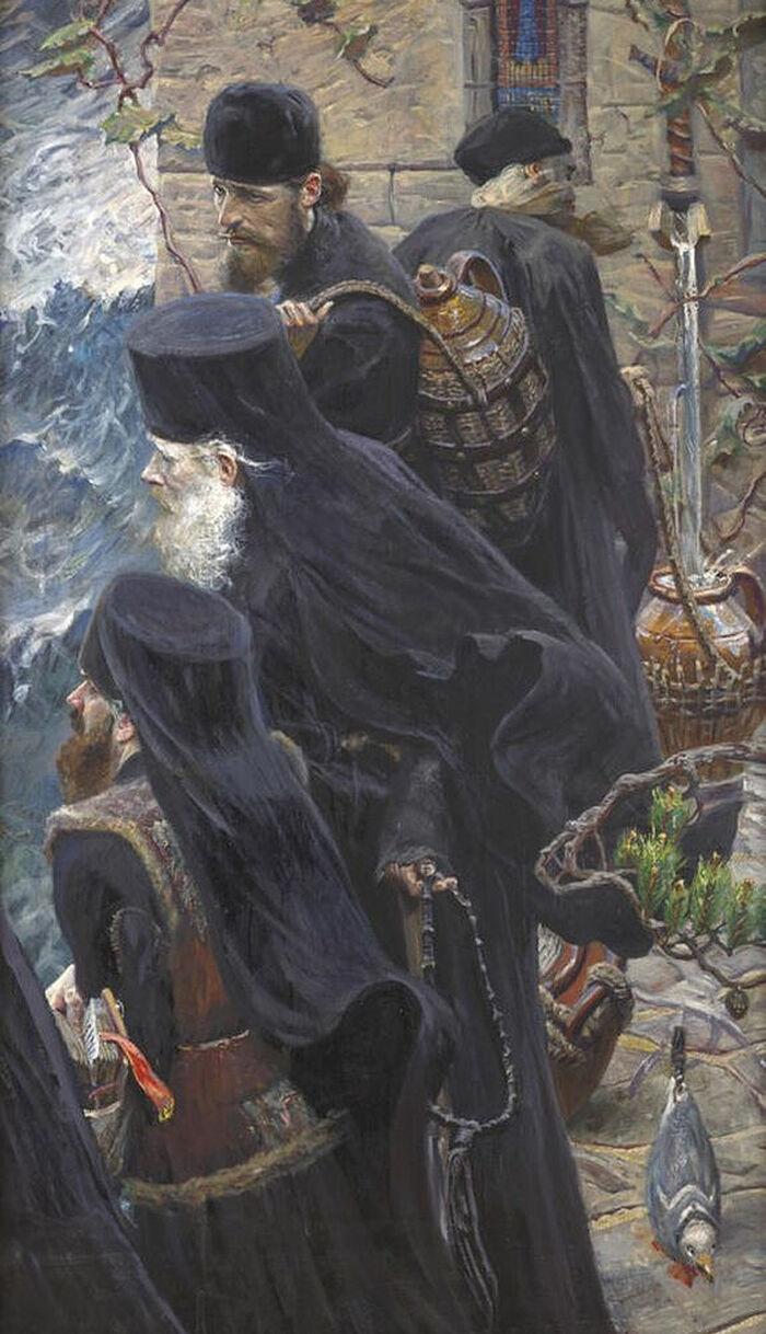 Павел Рыженко. «Братия» (2006)