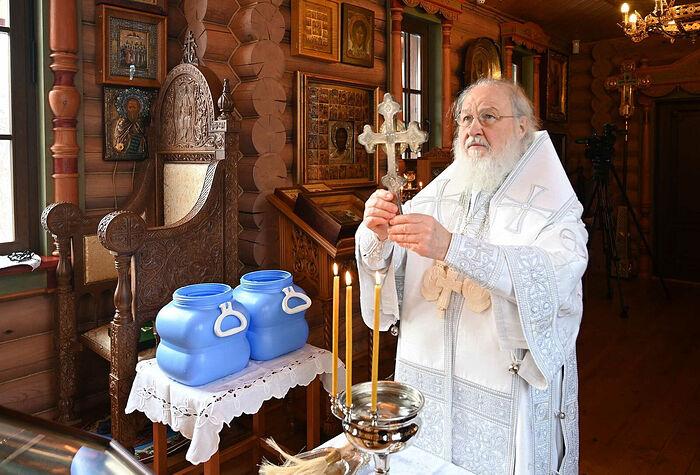 Проповедь в праздник Крещения Господня