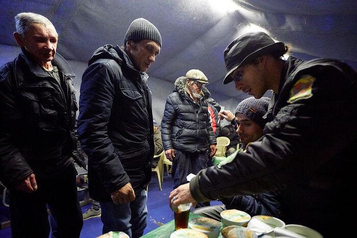 В Ангаре спасения православной службы «Милосердие». Фото Ирины Абзаловой