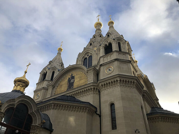 St. Alexander Nevsky Cathedral in Paris. Photo: twitter.com