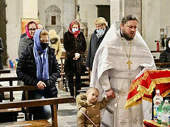First Liturgy served for new Ukrainian Orthodox community in Italy