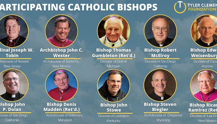 Ιεράρχες της Ρωμαιοκαθολικής Εκκλησίας, οι οποίοι στήριξαν το ΛΟΑΤΚΙ. Πηγή: tylerclementi.org
