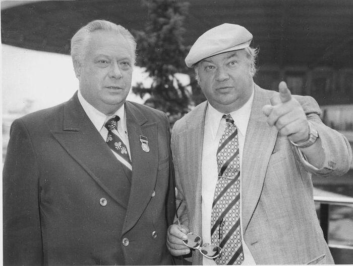 Николай и Юрий Озеровы