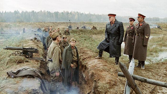 Кадр из фильма «Битва за Москву»