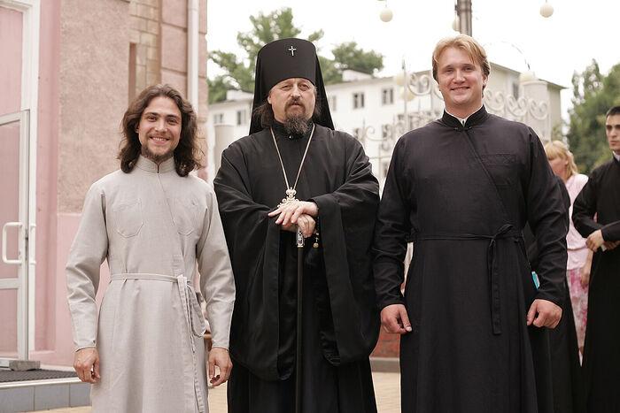 С архиепископом Белгородским Иоанном