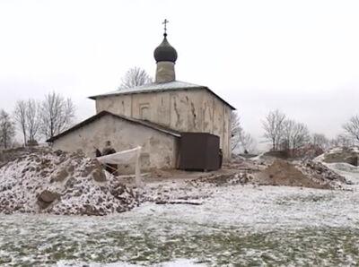 Гремяцкий монастырь в Пскове готовят к реставрации