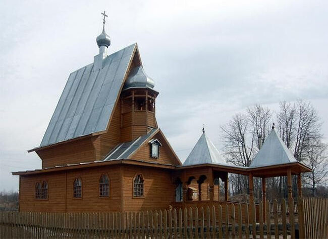 St. Xenia's Chapel in the village of Sizma of the Vologda region. Photo: Vologdatourinfo.ru