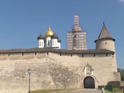 На колокольне Троицкого собора в Пскове проведут противоаварийные работы
