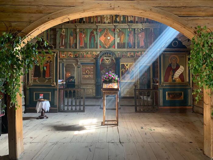 Στη μονή του Σβιγιάζσκ
