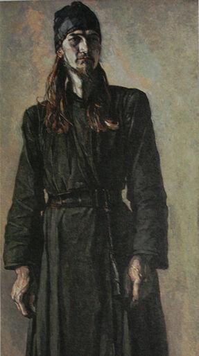 Молодой монах отец Феодор