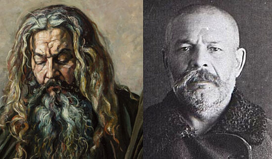 Сравнение фото и портрета