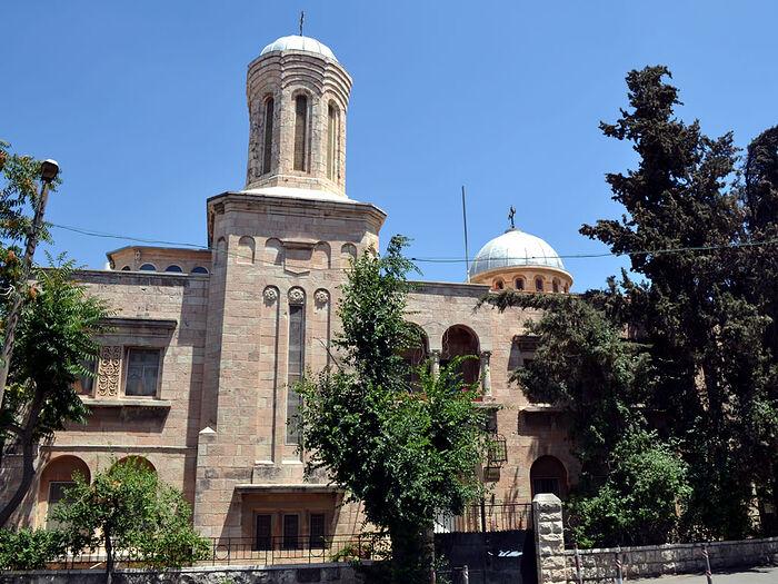 The Romanian Orthodox church in Musrara, Jerusalem. Photo: bisericaromaneascadelaierusalim.ro