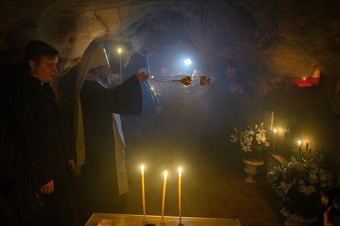 Заупокойную литию отслужили в Печорах в день памяти старца Иоанна Крестьянкина