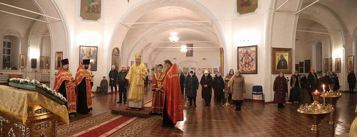 В Кирсе освящен музей Вятлага